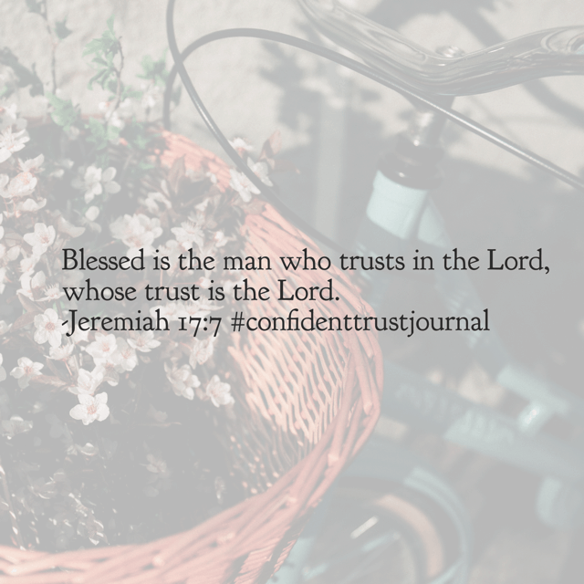 Happy is the one who chooses to place all his trust in God. Monday may be here, but there's no need to fear, your God is near. #confidenttrustjournal#biblereadingplan