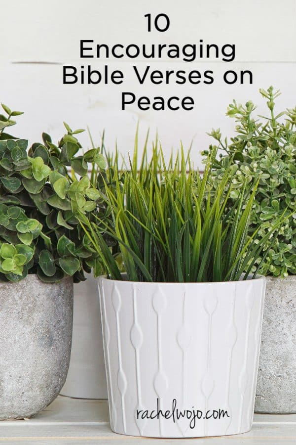 10 Encouraging Bible Verses on Peace