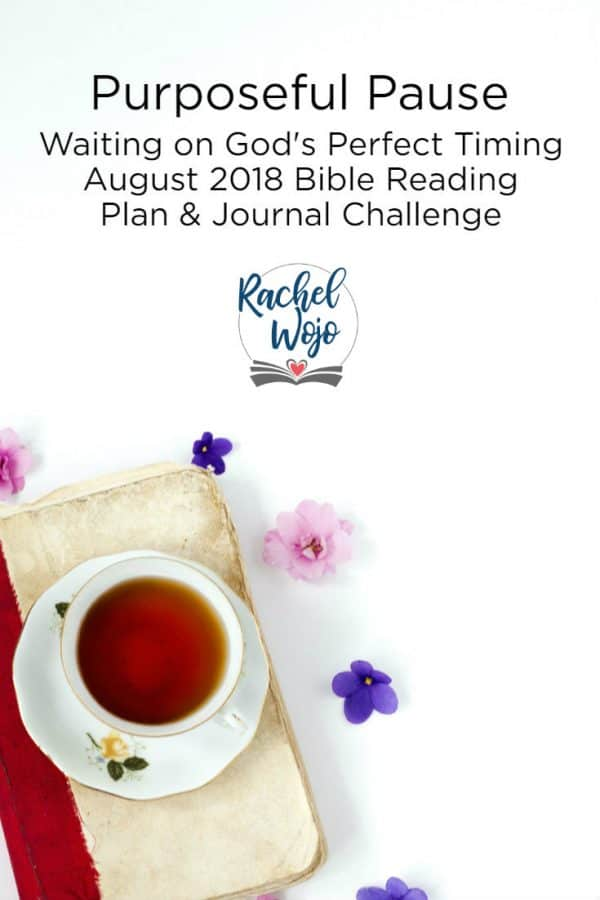 August 2018 Bible Reading Plan and Journal Challenge