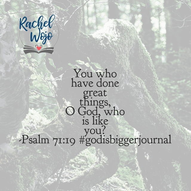 I feel like the Lord is challenging me with this verse especially this morning. Am I living a life of praise or pessimism? Am I choosing to know God is at work because He has been since the beginning of time? Make it a meditating kind of Monday!#biblereadingplan #godisbiggerjournal
