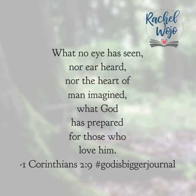 All those things you are worried about right now? You're right- you can't imagine how God is going to use them. Because it is beyond all your imagination. What a powerful, beautiful passage to end this month's #godisbiggerjournal#biblereadingplan ! Don't forget to join us tomorrow as we begin #purposefulpausejournal !