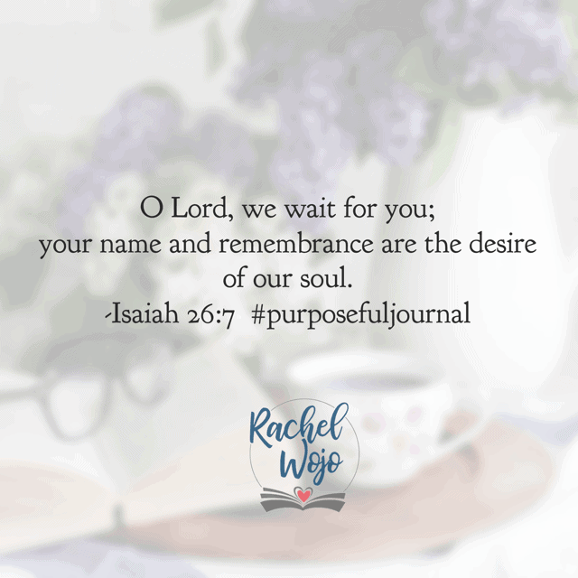 "This morning I am believing that those who say ""it is well with my soul"" are those who wait well. It's a good day to follow through on carving out time with the Lord! Have a super Saturday. #purposefulpausejournal#biblereadingplan"
