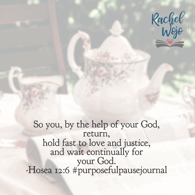 I am feeling like God is not going to answer this particular request and our family will keep waiting and waiting. It's hard and has caused tears. But in today's #purposefulpausejournal#biblereadingplan , I'm reminded again that He is faithful!!!!