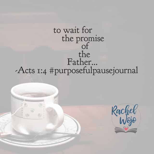 Act. 1:8 #purposefulpausejournal #biblereadingplan