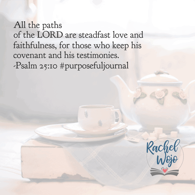 All.the.paths. Even when it feels like I'm waiting on God to orchestrate the details, I can rest in his steadfast love and faithfulness. My part is to obey His Word; His part is fulfilling His promises. Have a fabulous Friday knowing that God is working through the wait! #biblereadingplan #purposefulpausejournal
