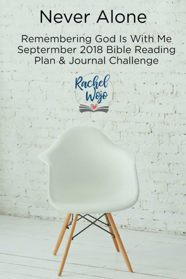 September 2018 Bible Reading Plan & Journal Challenge