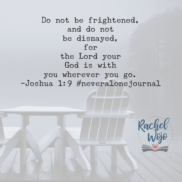 There is no place so dark that God cannot be with you. He is always with you, his child. Wherever this Tuesday takes you, you are never alone.#neveralonejournal#biblereadingplan