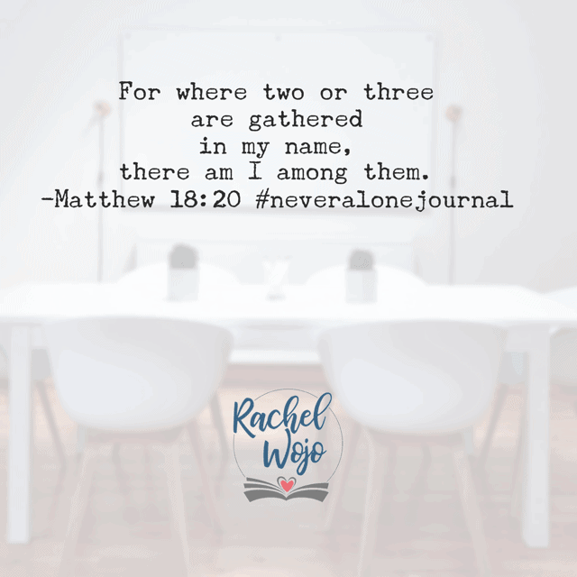 There is power when we unite our hearts in Jesus' name! Having someone to pray with is such a beautiful thing. He promises to join us when we choose to join together. What a promise! Have a fab Friday!#biblereadingplan#neveralonejournal