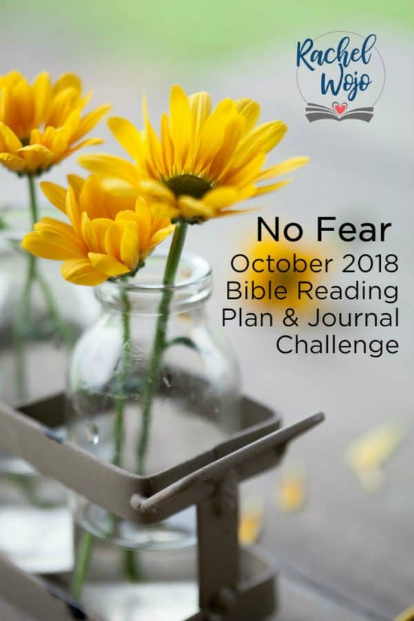 October Bible Reading Plan and Journal Challenge