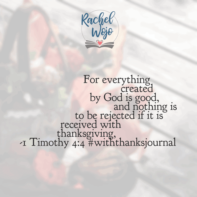Be sure to read today's #withthanksjournal and #biblereadingplan !
