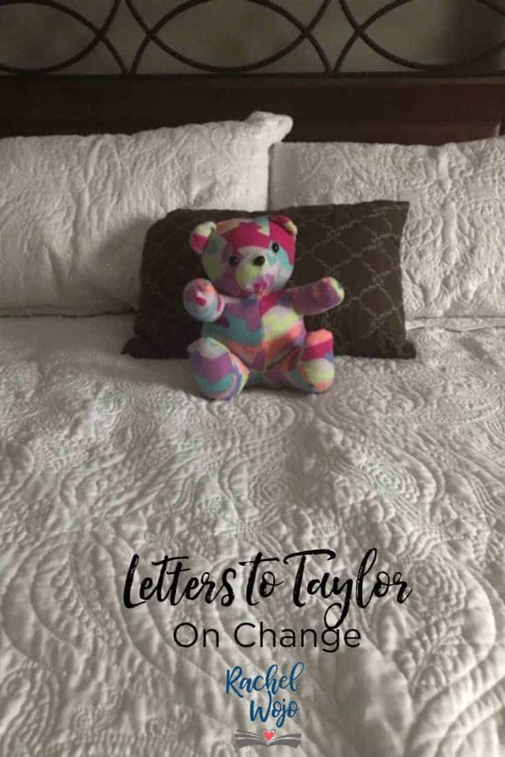 Letters to Taylor: On Change