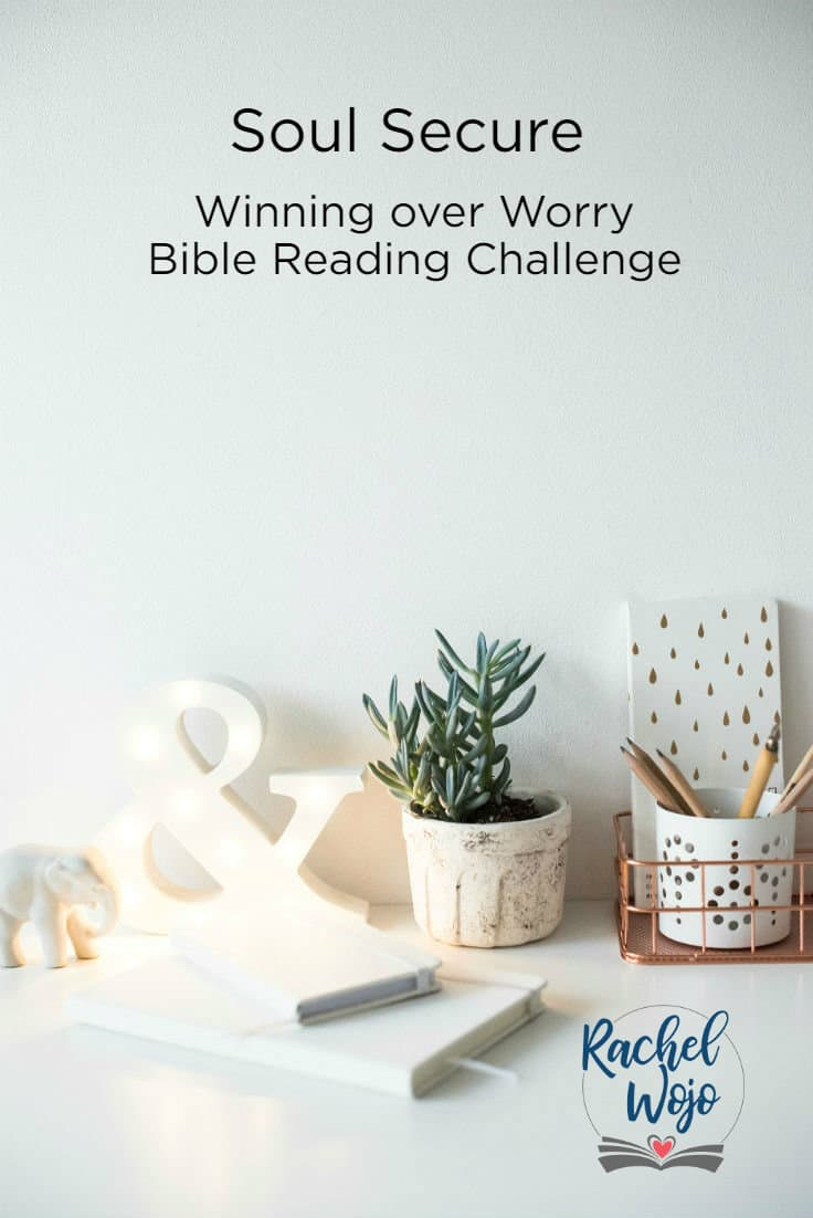 Winning over Worry Bible Reading Challenge