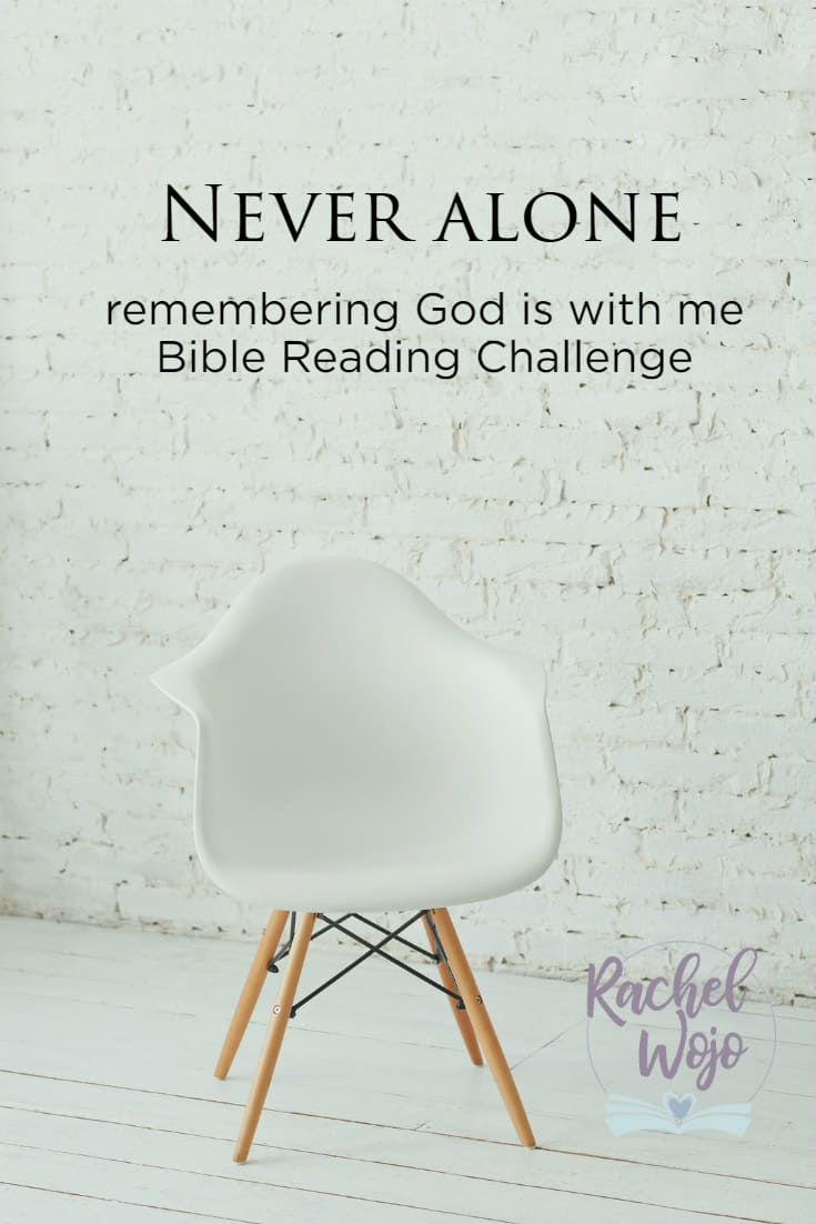 Never Alone Bible Reading Plan