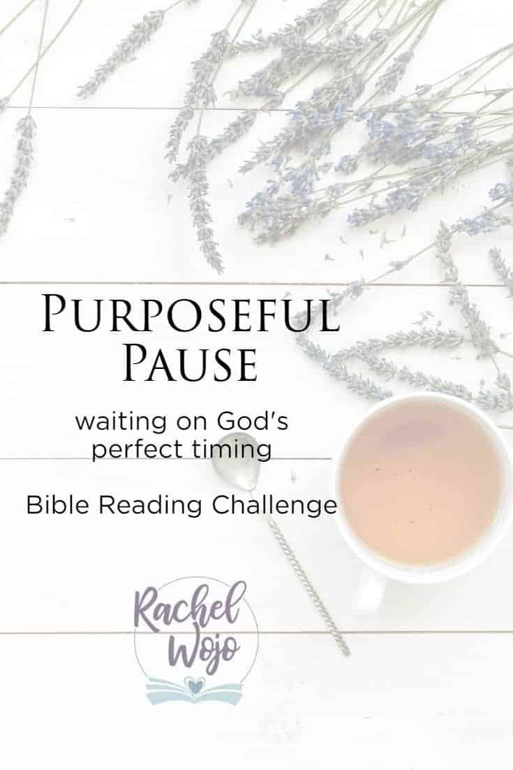 Purposeful Pause Bible Reading Plan