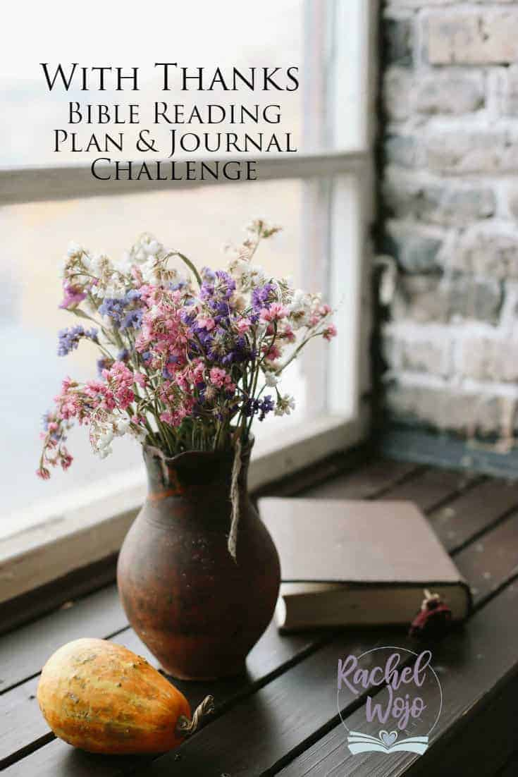 With Thanks Bible Reading Plan and Journal Challenge
