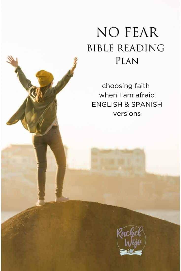 No Fear Bible Reading Plan: Choosing Faith When I'm Afraid