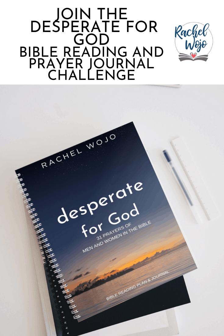 Desperate for God Bible Reading Challenge